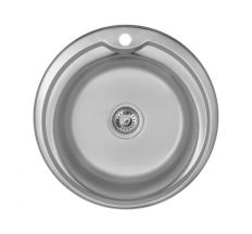 Кухонна мийка Imperial 510-D Decor (IMP510D06MDEC160)