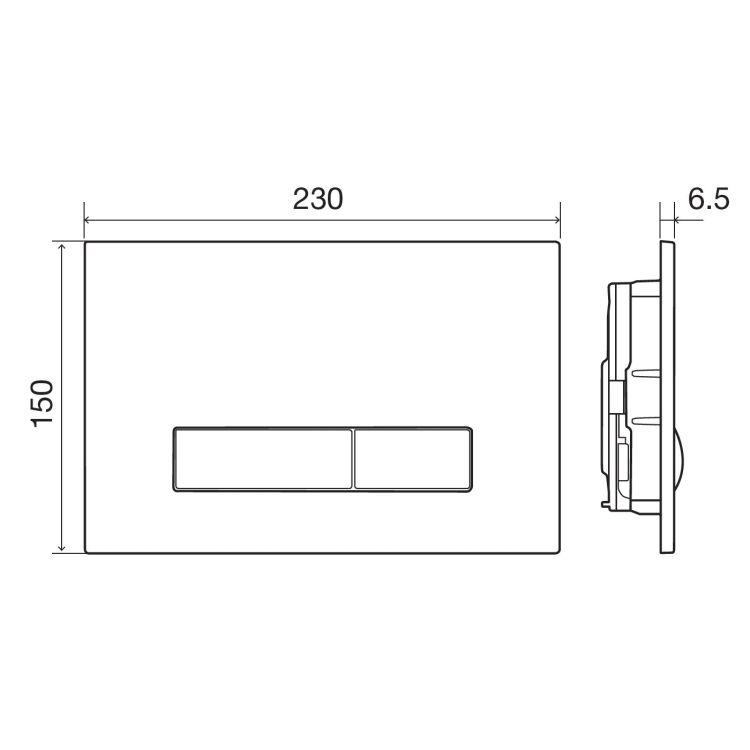 IMPRESE Комплект інсталяції 3в1(клавіша PANI біла) - 4