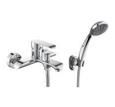 FLY смеситель для ванны однорычажный, хром, 35 мм