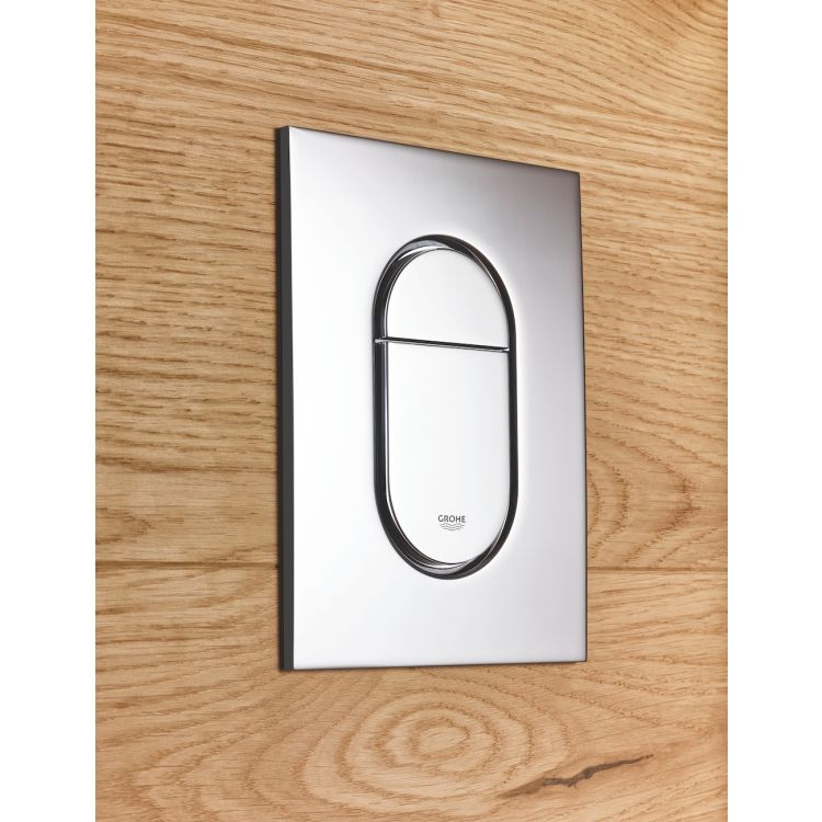 Rapid SL 3в1 комплект для подвесного унитаза (бачок, крепеж, кнопка хром - двойн. слив 37624000) - 3