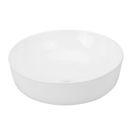 VOLLE умивальник 35,5*35,5*12,5 см, накладної, круглий, матовий - 3