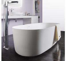 Ванна отдельностоящая каменная Solid surface 1680*800*530mm VOLLE 12-40-036