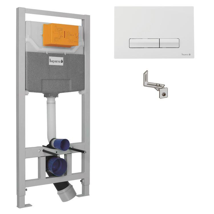 IMPRESE Комплект інсталяції 3в1(клавіша PANI біла) - 1