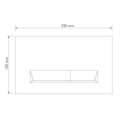 Комплект інсталяції Impresse 3в1 (клавіша PAN Laska bila) - 5