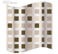 Шторка для ванної, коричневі квадрати 2101155