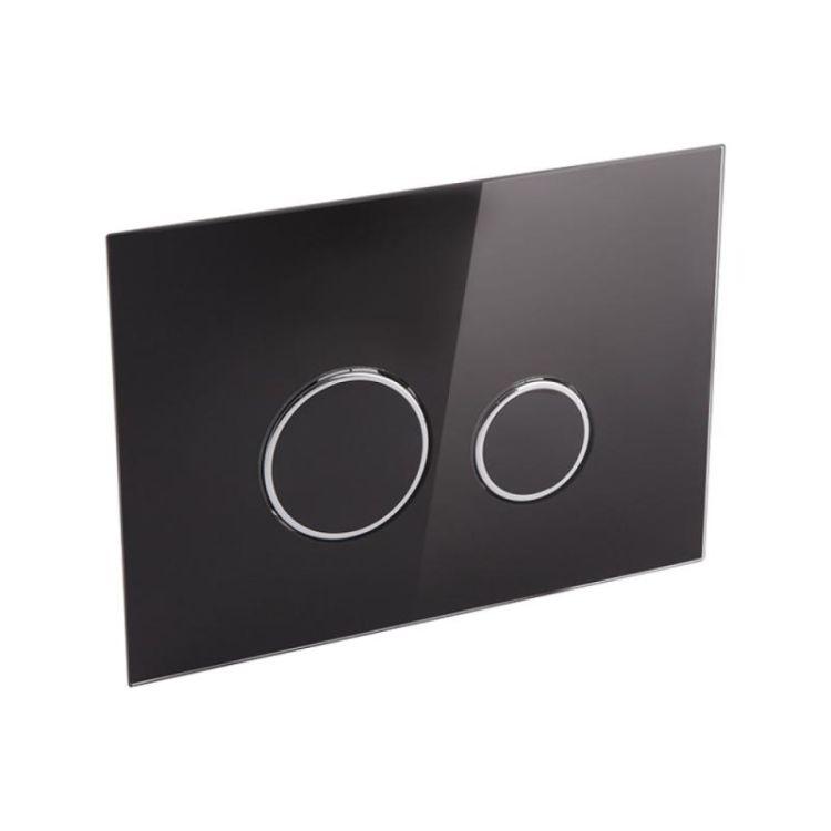 Набір інсталяція 4 в 1 Qtap Nest ST з круглої панеллю змиву QT0133M425V1163GB - 5