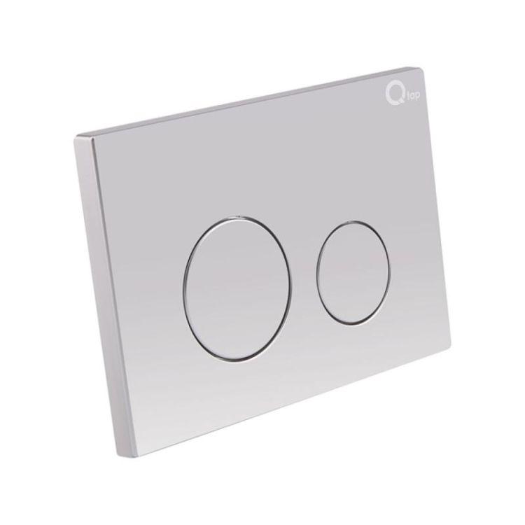 Набір інсталяція 4 в 1 Qtap Nest ST з круглої панеллю змиву QT0133M425M11111SAT - 5