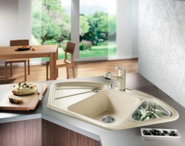 Особливості та види кутових мийок для кухні - 1