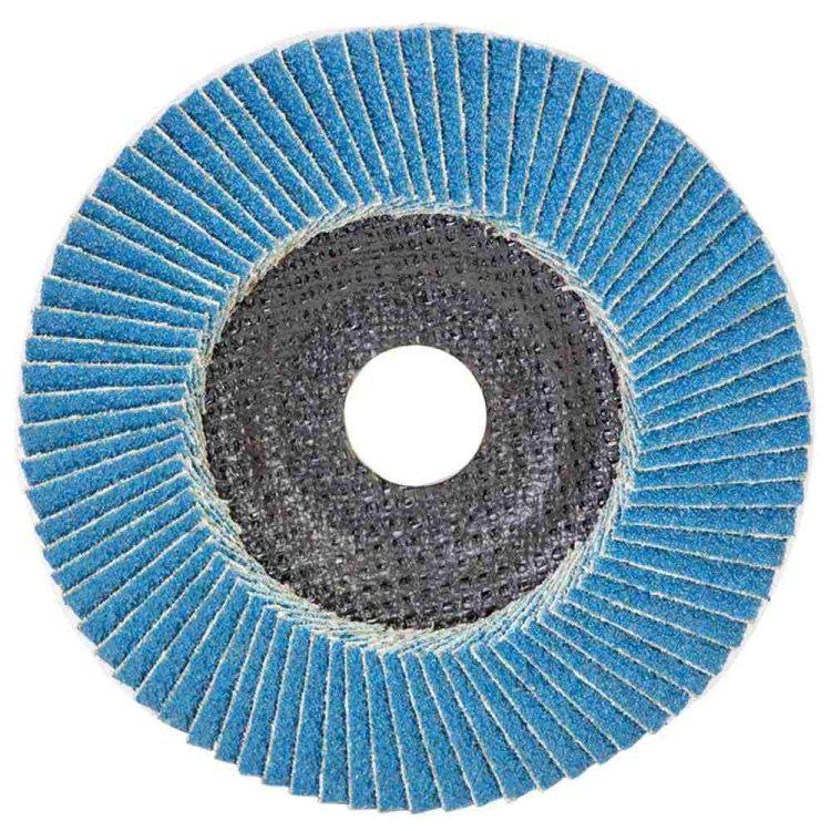 Круг лепестковый торцевой Т29 (конический) ZA Ø125мм P60 Sigma (9173531) - 1