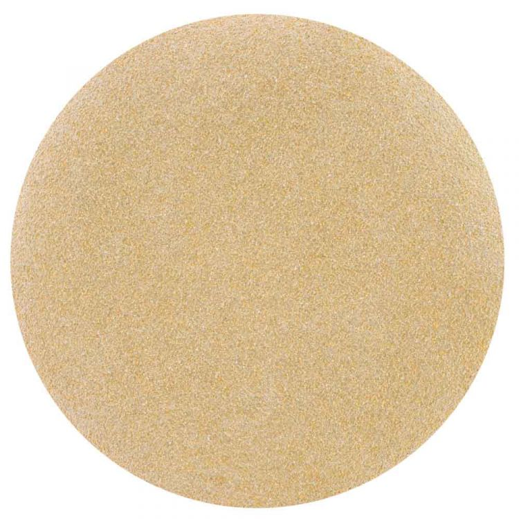 Шлифовальный круг без отверстий Ø125мм Gold P80 (10шт) Sigma (9120051) - 1