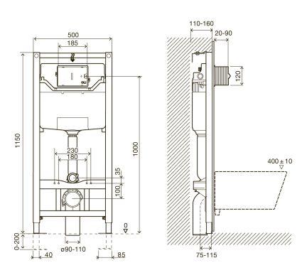 Комплект інсталяції Impresse 3в1 (клавіша PAN Laska bila) - 2