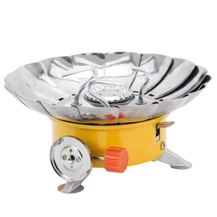 Плита газовая с пьезоподжигом и защитой от ветра Sigma (2903511) - 1