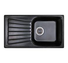 Мийка Fosto 81х46/780*435*180 колір SGA-420 чорний (без сифона)