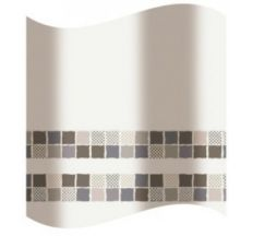 Шторка для ванної, коричнева мозаїка 2100851