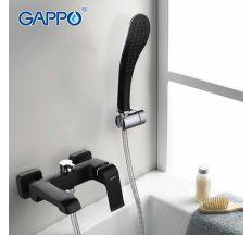 Змішувач для ванни Gappo Aventador G3250 чорний