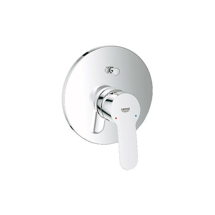 BauEdge Змішувач для ванни одноважільний, що вбудовується - 1