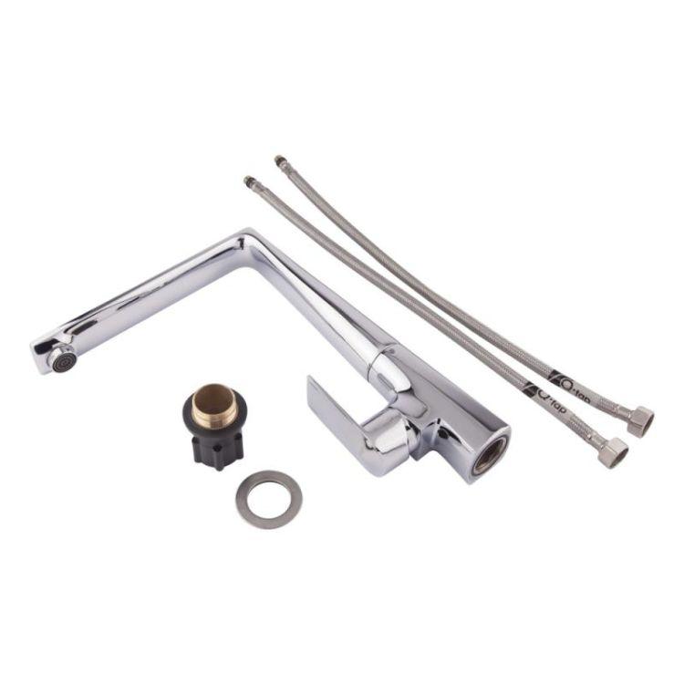 Змішувач для кухонного миття Q-tap Estet CRM 007F - 4