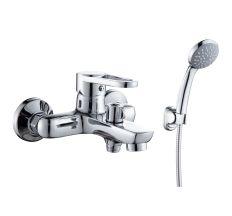 KINK змішувач для ванни одноважільний, хром 35 мм