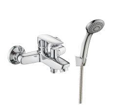 LOTUS змішувач для ванни одноважільний, хром 35 мм