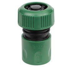 """Коннектор ½"""" быстросъёмный аквастоп для шланга ¾"""" Grad (5016125)"""