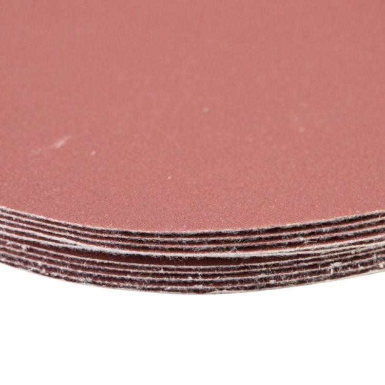 Шлифовальный круг без отверстий Ø125мм P320 (10шт) Sigma (9121181) - 4