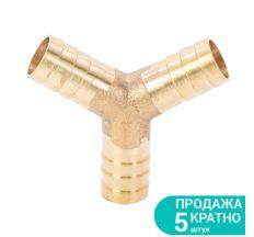 З'єднання для шланга Y 12мм (латунь) Sigma (7024051)