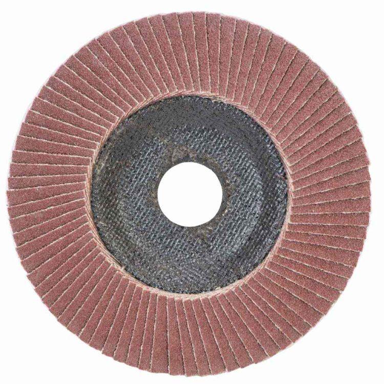 Круг лепестковый торцевой Т29 (конический) Ø125мм P120 Sigma (9172661) - 1