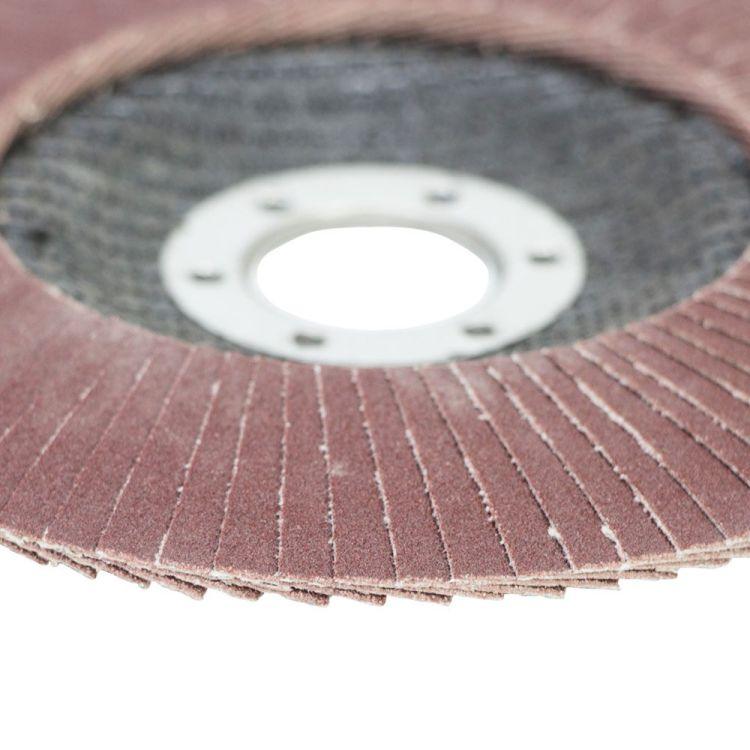 Круг лепестковый торцевой Т29 (конический) Ø125мм P180 Sigma (9172681) - 4