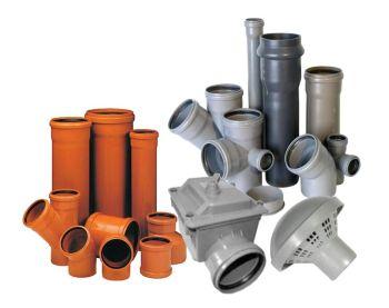 Отличия труб для внутренней и наружной канализации