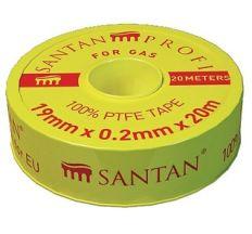 Фум стрічка SANTAN для газу PROFI 19 мм*0,2 мм*20 м
