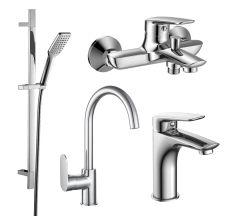 PL набір змішувачів (4 в 1) для ванни та кухні