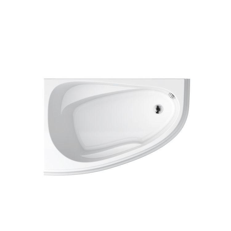 Ванна акриловая Cersanit Joanna New 150x95 L с ножками - 2