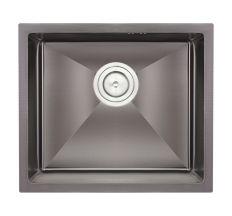 Кухонна мийка Qtap D4843BL 2.7/1.0 мм (QTD4843BLPVD2710)