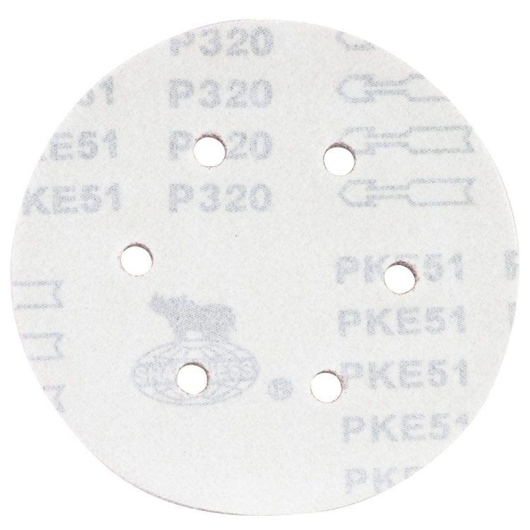 Шлифовальный круг 6 отверстий Ø150мм P320 (10шт) Sigma (9122331) - 2