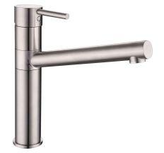 LOTTA смеситель для кухни 55402-SS, сталь, 40 мм