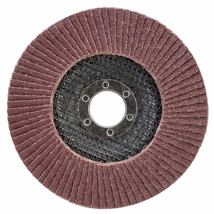 Круг лепестковый торцевой Т29 (конический) Ø125мм P60 Sigma (9172631) - 1