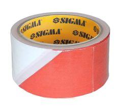 Стрічка сигнальна 72мм×50м Sigma (8423581)