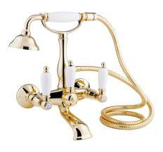 Змішувач для ванни Bianchi First VSCFRS1023#02600ORO з душовим комплектом