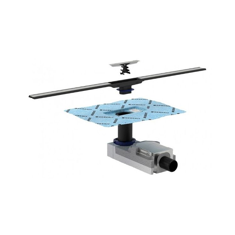 Комплект Geberit CleanLine, висота стяжки 90-200мм - 1