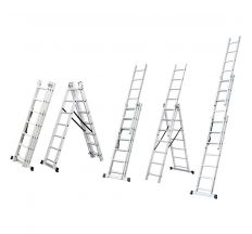 Сходи розкладні універсальна 12 сходинок FLORA (5032354)