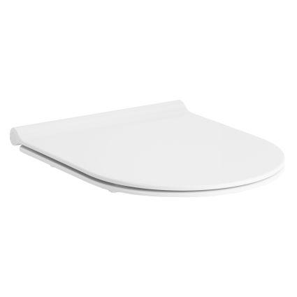 NEMO сидіння для унітазу тверде Slim слоу-клоуз метал крепл. (ісп) - 1