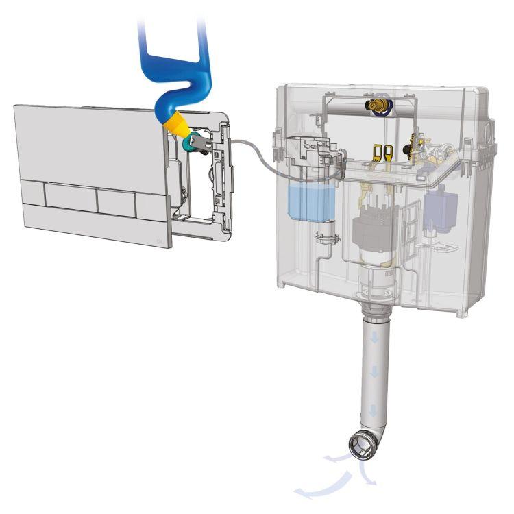 IMPRESE Комплект інсталяції 3в1(PANI хром) (OLIpure) - 5