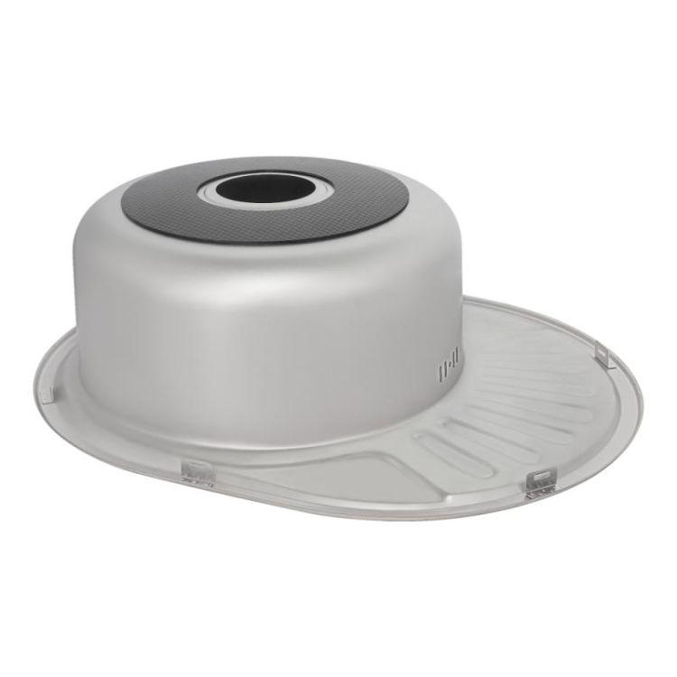 Кухонна мийка Lidz 5745 Polish 0,6 мм (LIDZ5745POL06) - 5