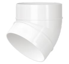 Колено круглое 100/45 арт121-45