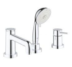 Смеситель для ванны на три отверстия Grohe BauClassic 2511800A