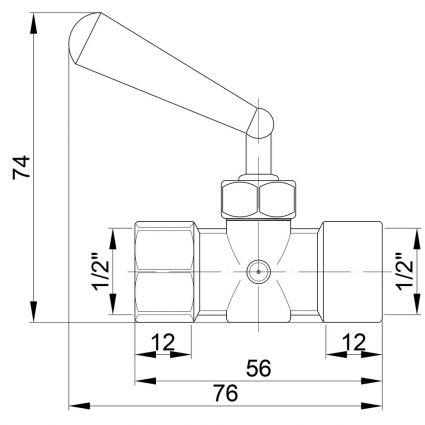 158 Кран пманометр ф1/2вв PN16 110*З - 2