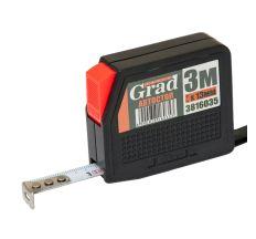 Рулетка з автостопом 3м*13мм Grad (3816035)