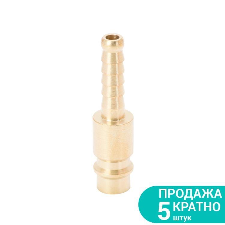 Штуцер для шланга удлиненный 6мм (латунь) Sigma (7022611) - 1