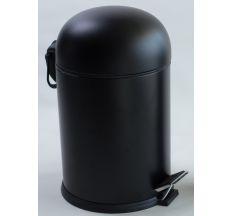 BON Відро для сміття з педаллю 5Л, колір чорний