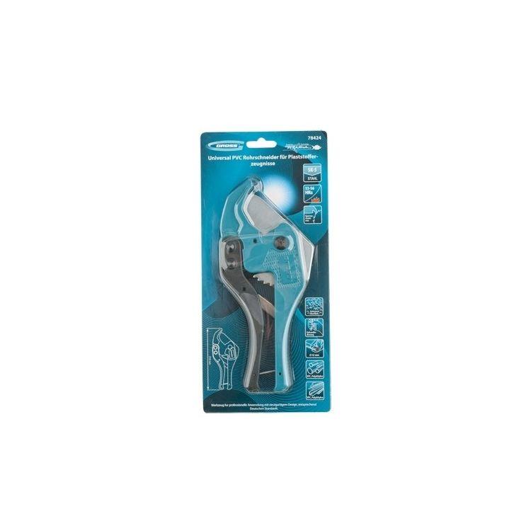 Ножиці для різання виробів із ПВХ, універсальні, діаметр до 42 мм GROS 78424 - 2